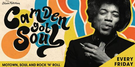 Camden Got Soul: Live music and DJs til late tickets