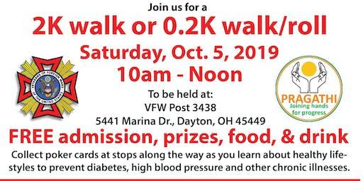 Poker Walk for Veterans Obesity Awareness