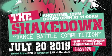 The Shake Down Dance Battle Competition tickets