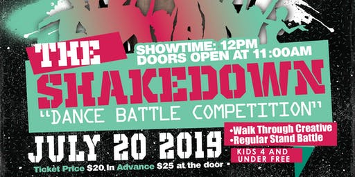 The Shake Down Dance Battle Competition