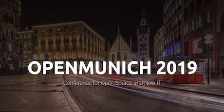 OpenMunich 2019 tickets