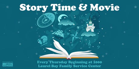 Story Time & Movie tickets