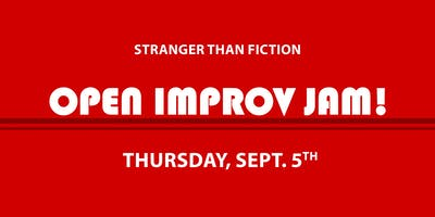 Improv Open Jam! September 5th