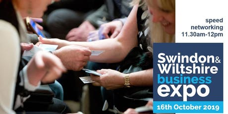 Speed networking (1) at Swindon & Wiltshire Expo tickets