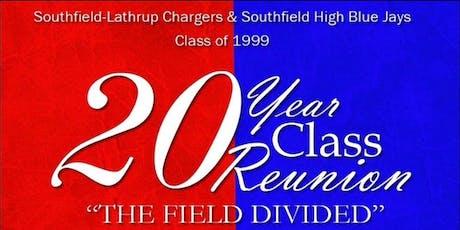 Class of 1999 - Southfield-Lathrup Senior High School 20 Year Reunion tickets