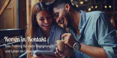 """""""Komm in Kontakt"""" Training - Frankfurt tickets"""