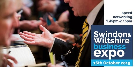 Speed networking (2) at Swindon & Wiltshire Expo tickets
