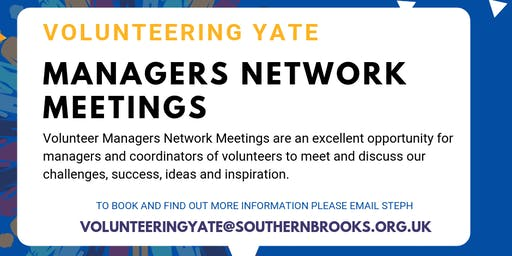 Volunteer Managers Network Meetings