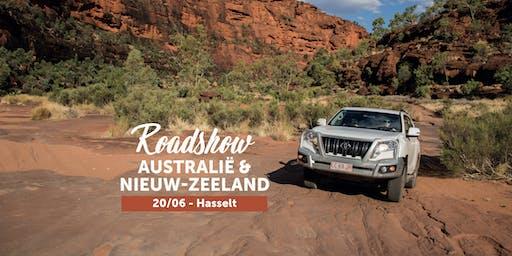 Roadshow Australië & Nieuw-Zeeland in Hasselt