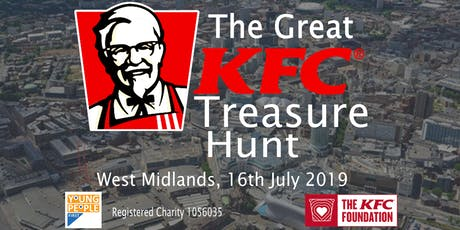 The Great KFC Treasure Hunt tickets