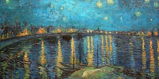 Paint Starry Night over the Rhone! Leeds, Thursday 20 June