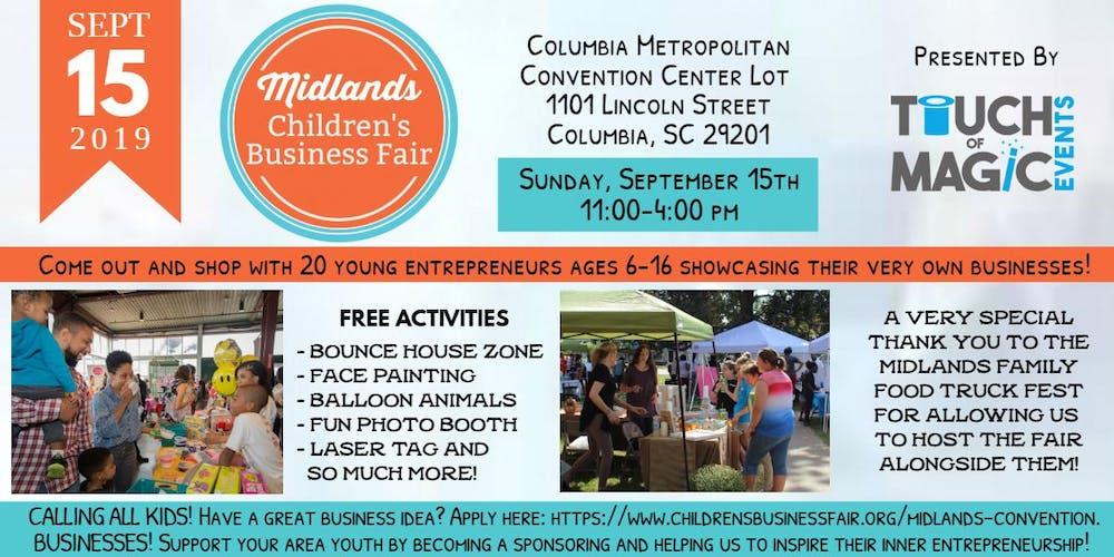 Midlands Children's Business Fair Tickets, Sun, Sep 15, 2019