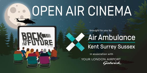 Open Air Cinema - Air Ambulance Kent Surrey Sussex