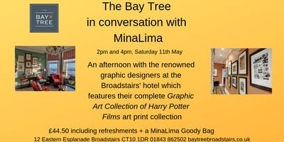 In conversation with MinaLima at The Bay Tree Hotel Broadstairs