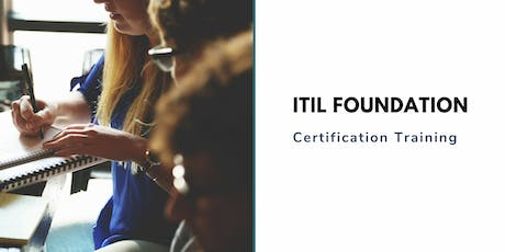 ITIL Foundation Classroom Training in Salinas, CA tickets