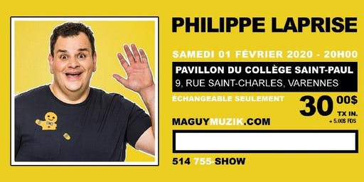 Philippe Laprise nouveau spectacle !