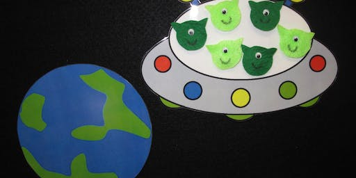 Family Learning - Space Explorers - Worksop Library