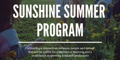 Sunshine Summer Days Program at the Farm (2-5yrs + Caregiver)(6-weeks)