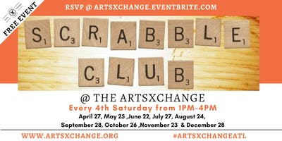 Scrabble Club at the ArtsXchange