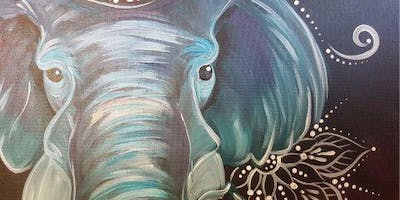 An Evening With Paintergirl~Bohemian Elephant