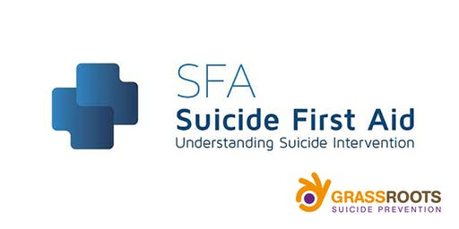 FULLY BOOKED Suicide First Aid