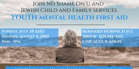 Youth Mental Health First Aid with No Shame On U and JCFS tickets