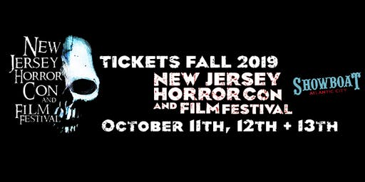 NJ Horror Con Tickets For October 2019