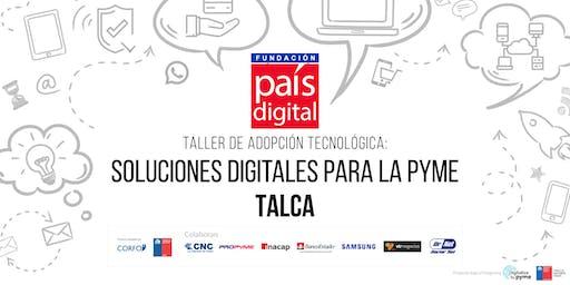 Taller Adopción Tecnológica: Soluciones Digitales para Pymes - Talca