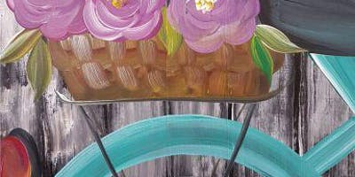 An Evening With Paintergirl~Tapas & Painting~Spring Bikeride
