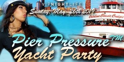 Long Beach Pier Pressure Memorial Sunday Yacht Party