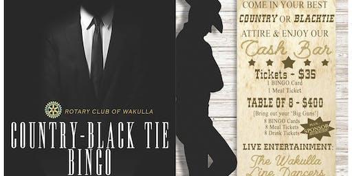 Country - Black Tie BINGO!