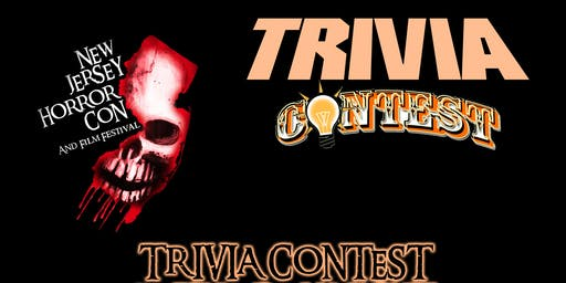 GAME SHOW Trivia Contest at NJ HORROR CON FALL 2019
