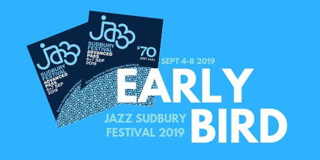 Jazz Sudbury Festival 2019 tickets