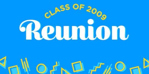 Reunion Southridge High School Class of 2009