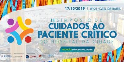 II Simpósio de Cuidados ao Paciente Crítico: Desafio da UTI no novo milênio
