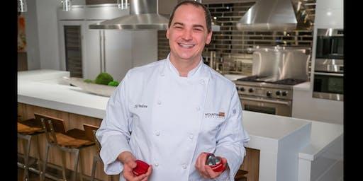 Chef Andrew's Wolf Appliance Tutorial in Louisville