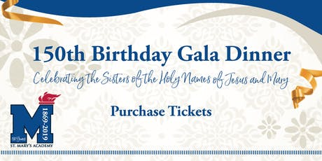 SMA 150th Birthday Gala tickets