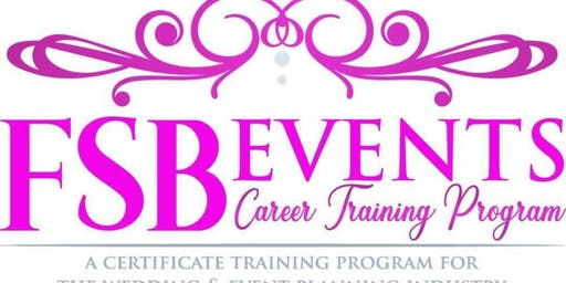 Wedding & Event Planning Class, Chattanooga, Nashville, Knoxville, Alabama