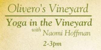 Yoga in the Vineyard with Naomi Hoffman