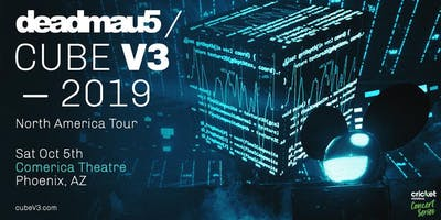 Deadmau5 / CUBE V3-2019 Tour