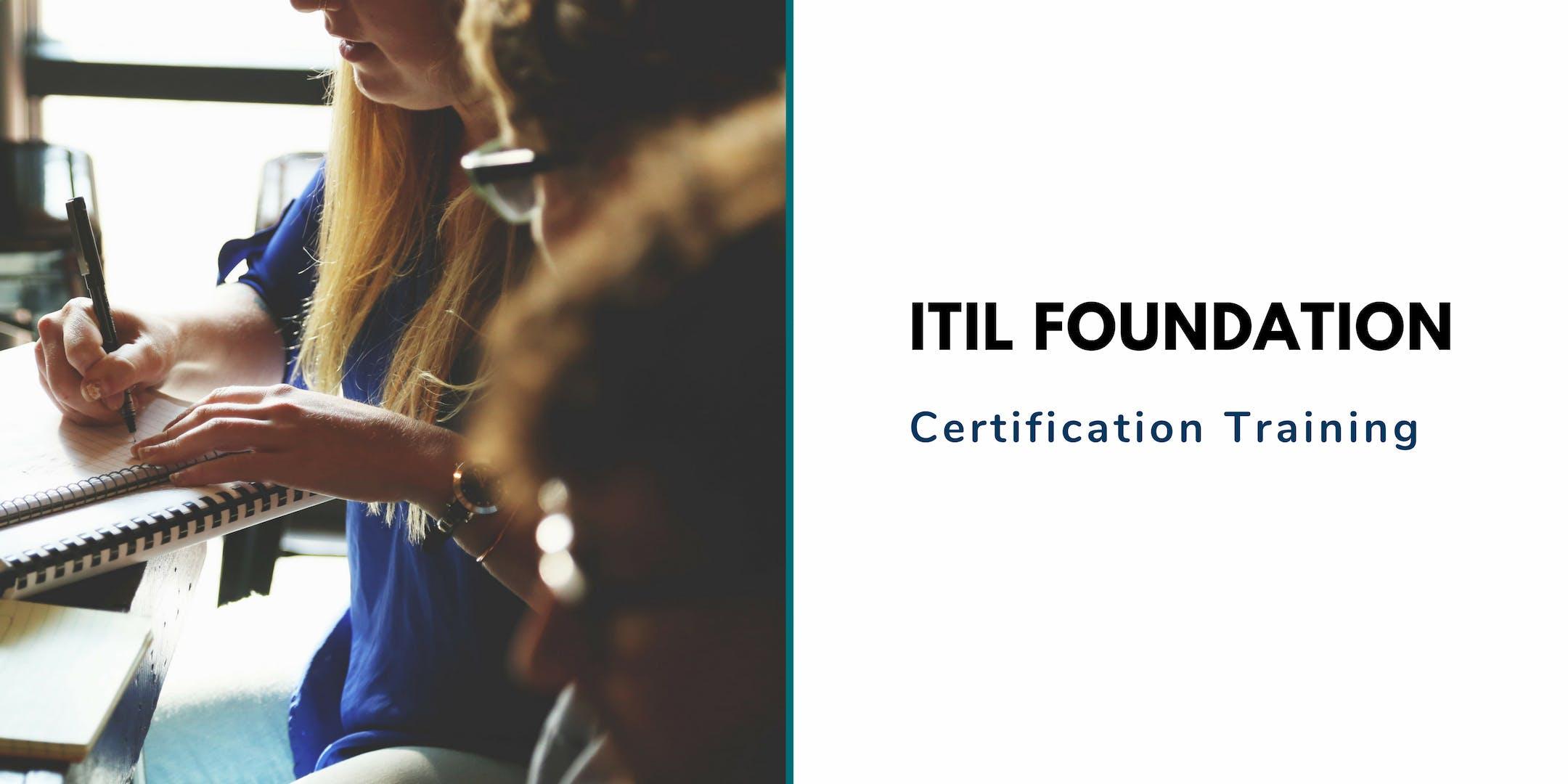 ITIL Foundation Classroom Training in West Palm Beach, FL
