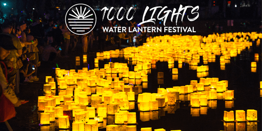 Redding, CA Water Lantern Festival  by 1000 Lights 2019