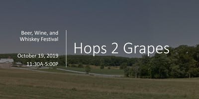 Hops 2 Grapes Craft Beer, Wine, and Whiskey Festival featuring Custom Wrangler Show!