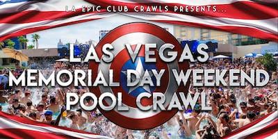 2019 Las Vegas Memorial Day Weekend Pool Crawl