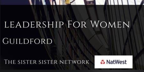 Leadership for Women Forum Guildford #NatWestBoost tickets