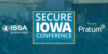 Secure Iowa Conference 2019 tickets