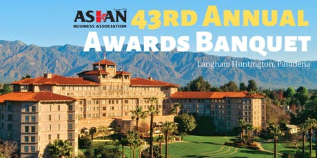 43rd Annual Awards Banquet  tickets
