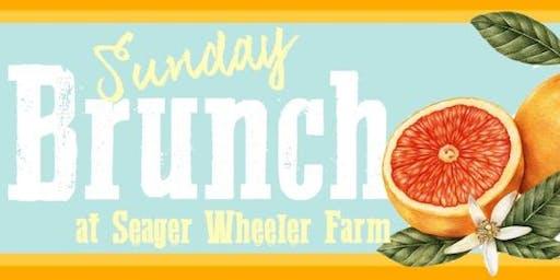 Sunday Brunch Buffet at the Farm!
