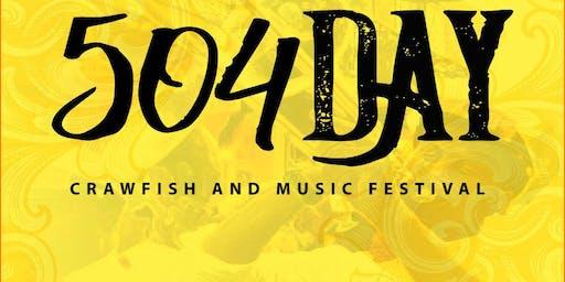 504 Day: Crawfish & Music Festival 2019