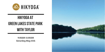 Hikyoga® at Green Lakes with Taylor
